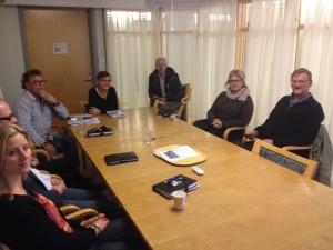 Bild: Mats Pilhem på besök på socialkontor i Östra Göteborg