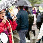 Gertrud Ingelman på Global Climate Strike i Göteborg