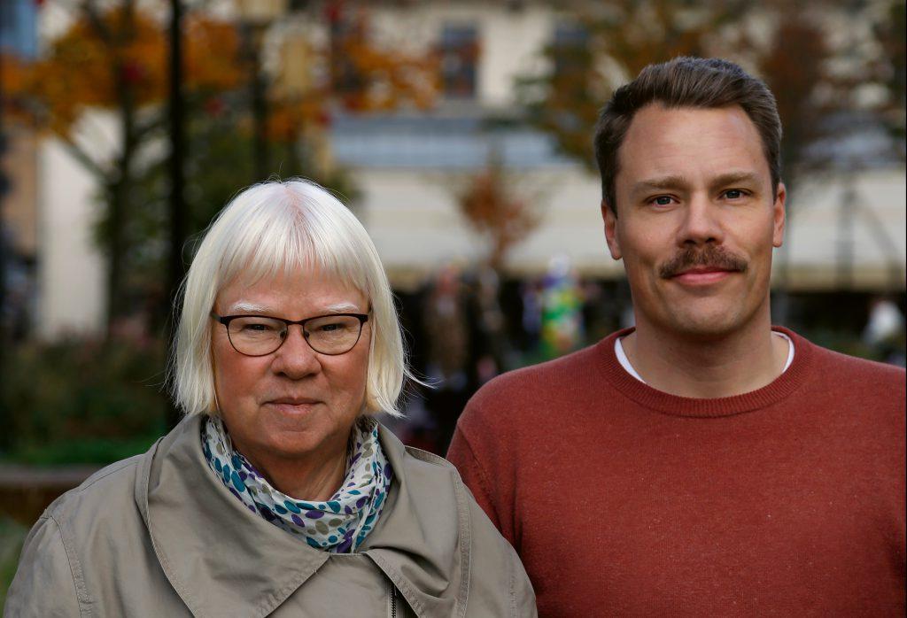 Daniel Bernmar och Eva Olofsson framifrån