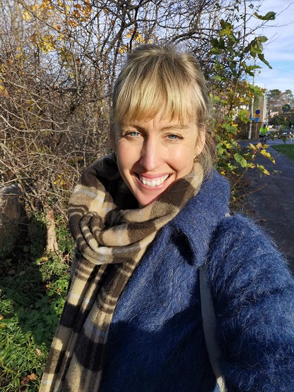 Karolina Palm Österbergär ny medlem hos Vänsterpartiet Göteborg