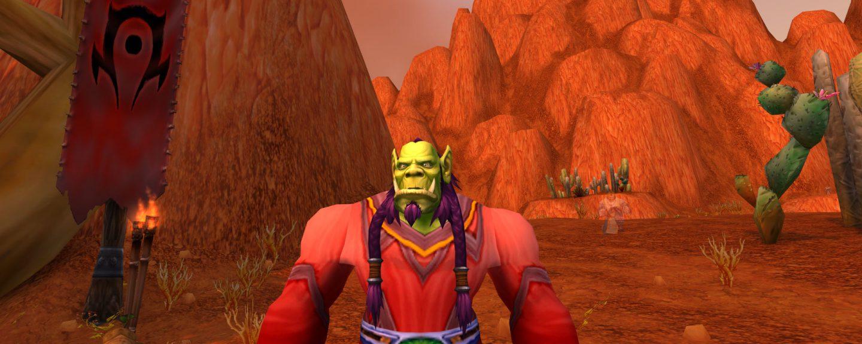 Daniel Bernmars orcshaman i spelat World of Warcraft