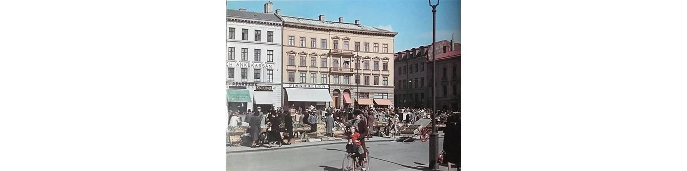Bild på Grönsakstorget i Göteborg