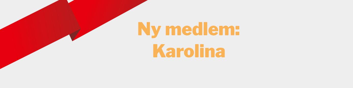 Karolina Palm Österberg är ny medlem hos vänsterpartiet göteborg