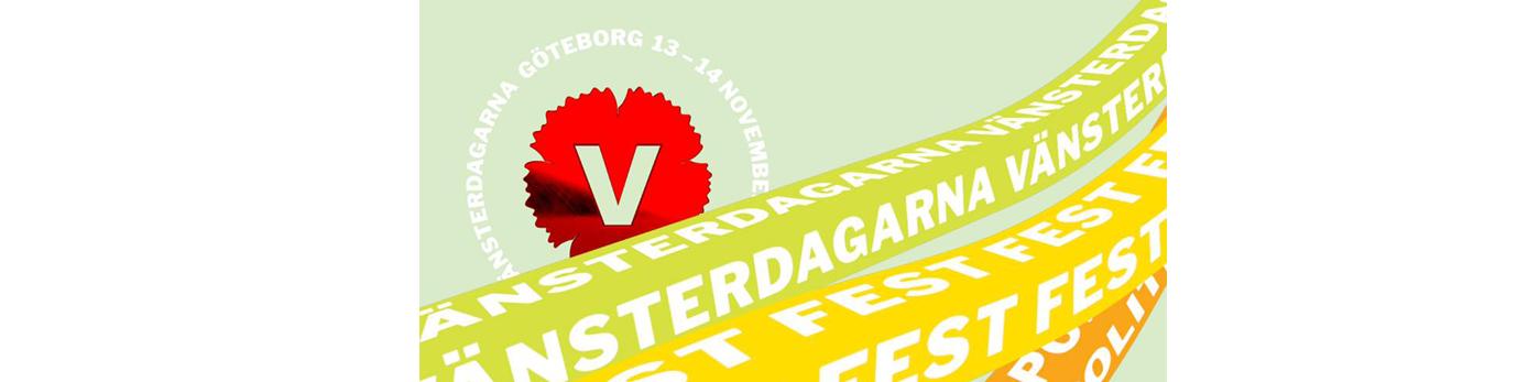Bild på Vänsterdagarnas logotyp 2021