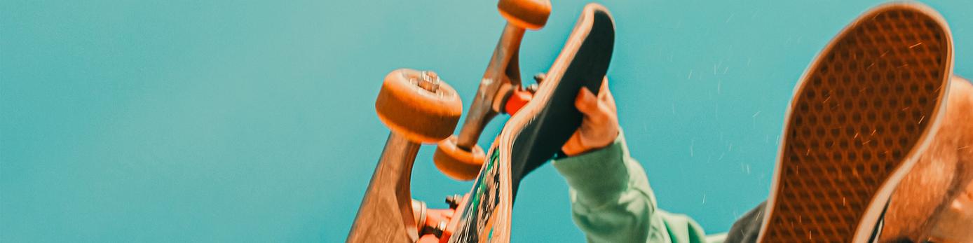bild på en skateboard