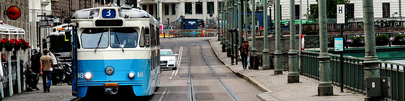 Vänsterpartiet Göteborg Kollektivtrafik, bilism och cyklande